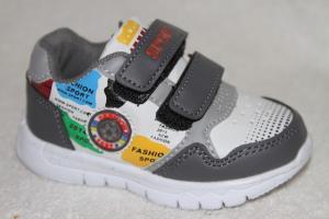 Фото Спортивная обувь, Кроссовки Кроссовки В130-1 серый