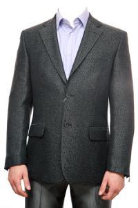 Фото Пиджаки  Классический пиджак Рогожка