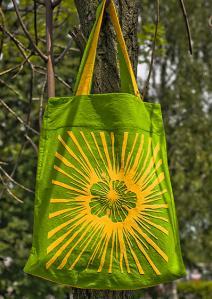 Фото Сумки молодежные Желтый цветок