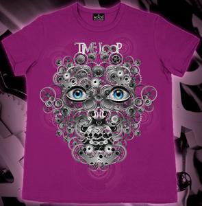 Фото Подростковые футболки GOOD TIME LOOP (Светится в темноте и ультрафиолете)