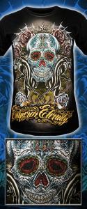 Фото Стиль CASUAL Emperor Eternity - Skull (спецэффект-Стразы)