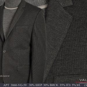 Фото Пиджаки мужские, Пиджаки осень-зима Пиджак мужской Valenti 3860-VG-59