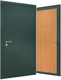 Фото Металлические двери Модель № 2