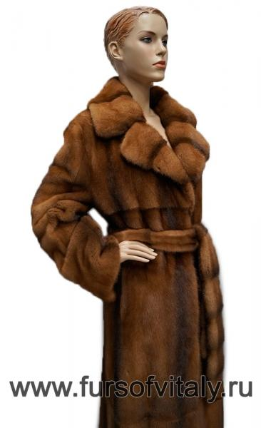Фото Норковые шубы / Новогодние скидки 10 - 50%, Норковые шубы Шуба из норки, модель