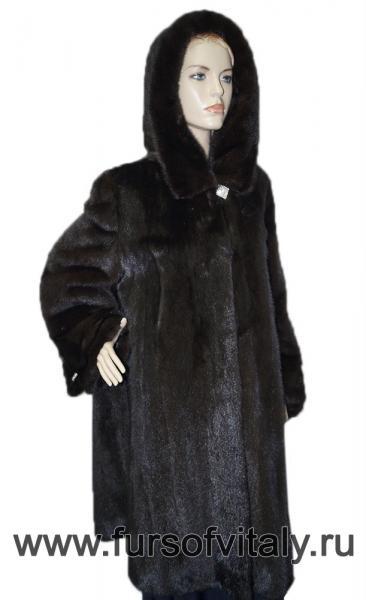 Фото Норковые шубы / Новогодние скидки 10 - 50%, Манто из норки Манто из норки, модель