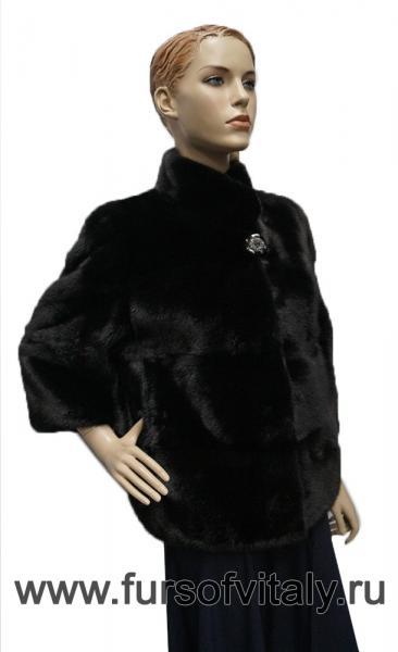 Фото Норковые шубы / Новогодние скидки 10 - 50%, Жакет из норки Жакет из норки, модель