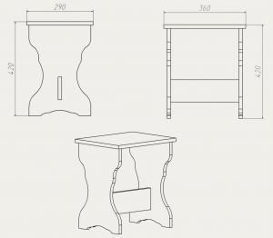 Фото Кухни, столы, табуретки, стулья и уголки, Уголки и табуретки производителя Компанит т 2