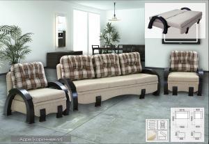Фото Диваны, кровати и матрасы , Диваны производителя Мебель-сервис Атлант