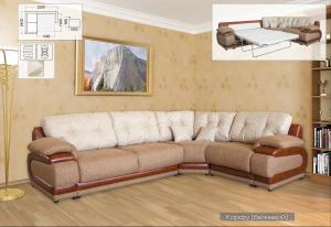 Фото Диваны, кровати и матрасы , Диваны производителя Мебель-сервис Джаконда угловой