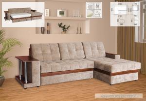 Фото Диваны, кровати и матрасы , Диваны производителя Мебель-сервис Орфей угловой 2