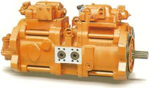 Фото  Главный насос (main pump) экскаватора