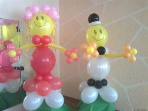 Фото Фигурки из шаров Клоун