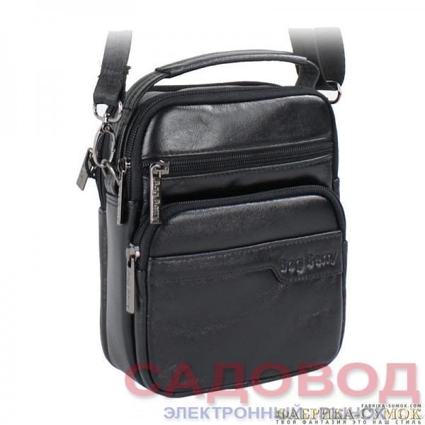 Мужская сумка арт.186-3092A-BagBerry-BLK