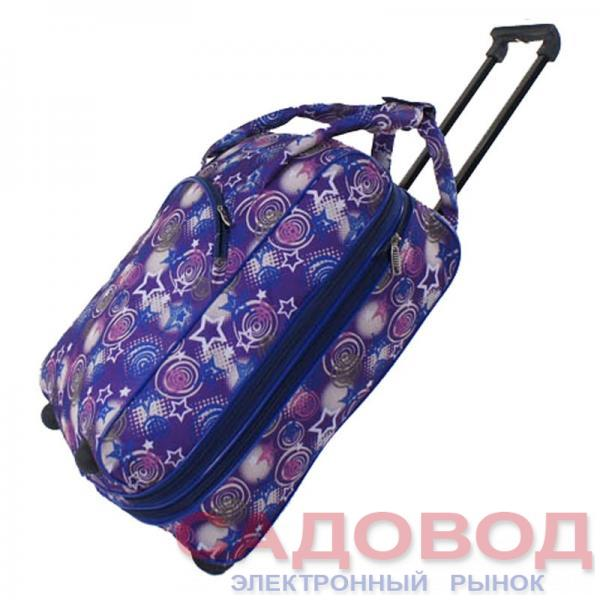 Колесная сумка арт.Саквояж-А206(дизайн)