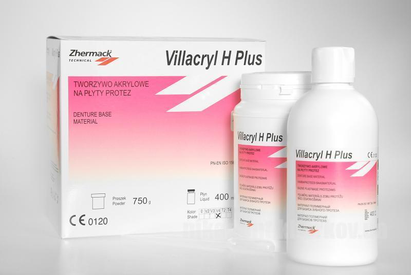 Фото Для зуботехнических лабораторий, МАТЕРИАЛЫ, Пластмассы и мономеры Villacril H Plus ( Виллакрил Аш Плюс)