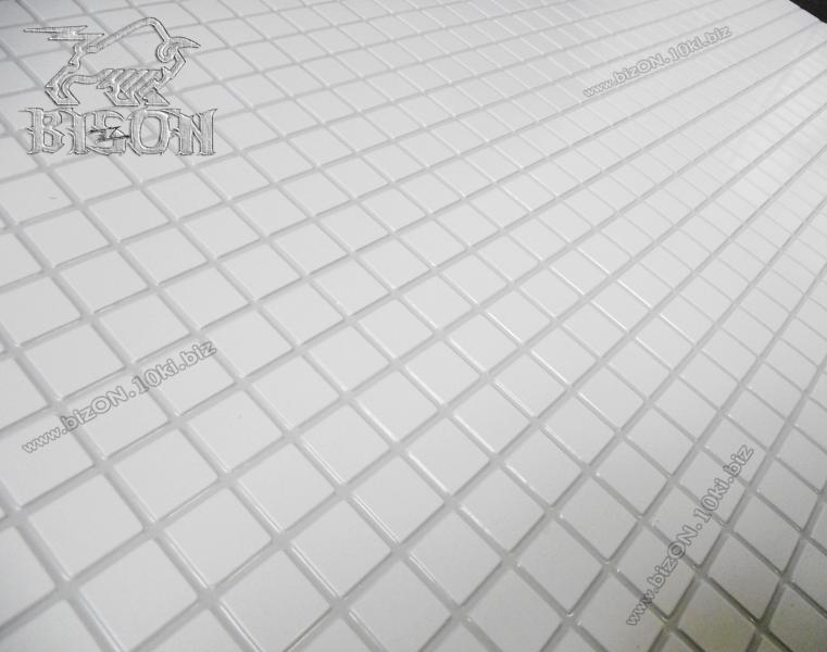 Фото Листовые панели ПВХ МОЗАИКА  «БЕЛЫЙ МИКС»   Листовые панели ПВХ для внутренней декоративной отделки