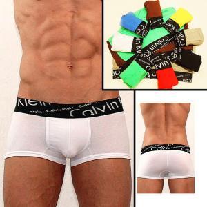 Фото Трусы Calvin Klein Italics Трусы Calvin Klein Italics black боксёры белого цвета