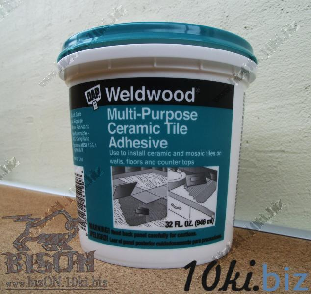 What type of adhesive to use on ceramic tile