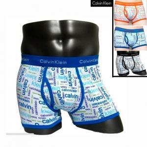 Фото Трусы Calvin Klein 365 printed Трусы Calvin Klein боксёры 365 printed синяя резинка с синими надписями