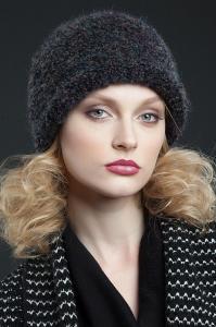 Фото женская шапка, Premium Шапка Мирель