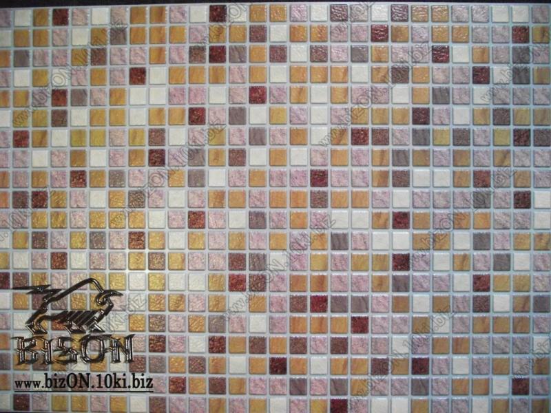 Фото Листовые панели ПВХ МОЗАИКА  «ПЕСОК САВОЯРСКИЙ»  Листовые панели ПВХ для внутренней декоративной отделки