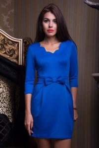 Фото Платья, Вечерние платья Вечернее платье с бантиком