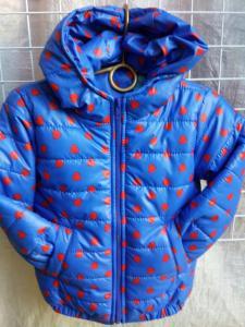 Фото КУРТКИ, ЖИЛЕТКИ ДЕТСКИЕ, Верхняя одежда детская Детская деми куртка на девочку 2-6 лет