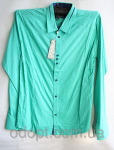 Фото Одежда мужская оптом, Мужские рубашки Рубашка мужская (4 цвета; 44-50 р-р.)