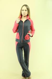 Фото  Костюмы женские трикотажные спортивные