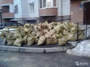 Фото  Вывоз любого мусора и снега