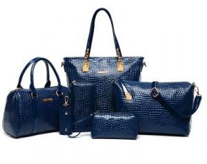 Фото  Набор сумок (6 в 1) Экокожа