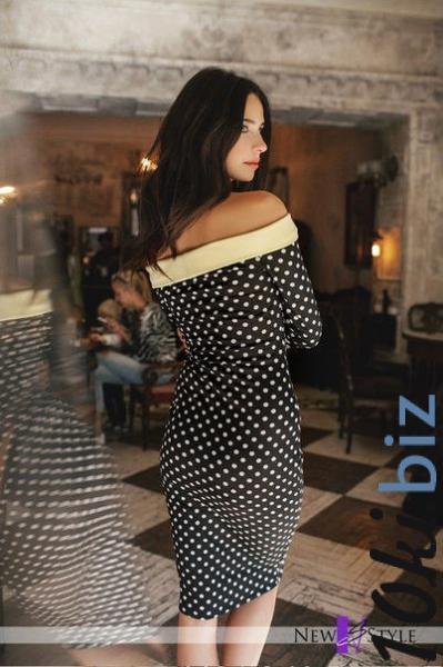Платье С Открытыми Плечами С Доставкой