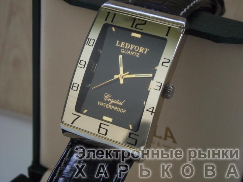 Часы «LEDFORT» QUARTZ, Crystal WATERPROOF, модель LF 1611 JAPAN