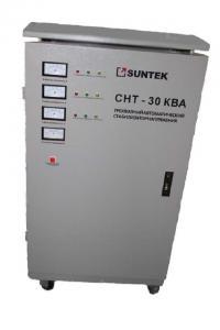 Фото  Трехфазный стабилизатор напряжения Suntek СНТ 30000 ВА