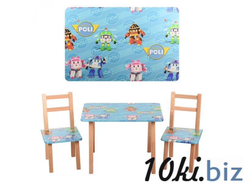 """Столик и 2 стула Bambi """"ROBOCAR POLI"""" M 2754"""