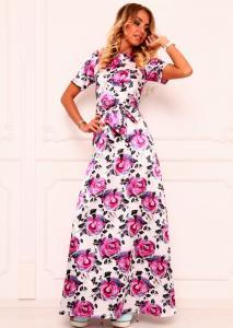 Фото СТИЛЬНАЯ ШТУЧКА Платье с розами