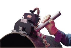 Фото  Универсальный пневматический труборез (150-1300 мм)