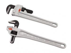 Фото  Алюминиевый трубный ключ с наклоном 90°