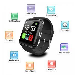 Фото Умные смарт часы и фитнес браслеты Uwatch U8 умные часы смарт Bluetooth на iOS или Android