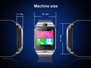 Фото Умные смарт часы и фитнес браслеты Aplus GV18 Умные смарт часы телефон bluetooth с HD камерой слот под sim карту SmartWatch для смартфона Android и iOS