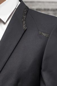Фото Костюмы Молодежный костюм темно-синего цвета.