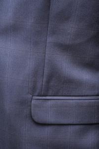 Фото Костюмы Костюм мужской синего цвета в крупную клетку