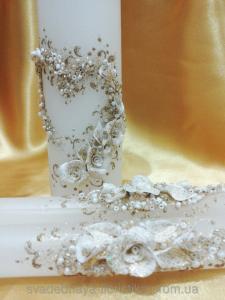 Фото Свадебные свечи Свадебные свечи