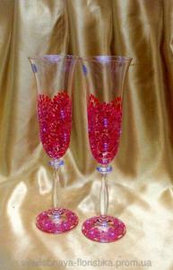 Фото Свадебные бокалы  Свадебные бокалы
