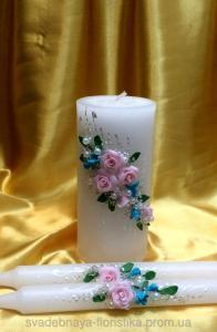 Фото Свадебные свечи Комплект свечей