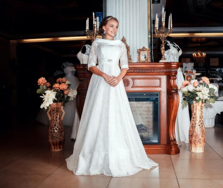 Свадебные платья от лаура стайл