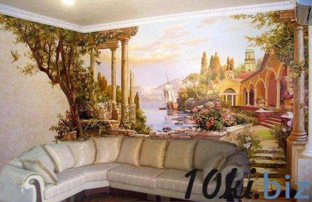 Росписи на стенах фото