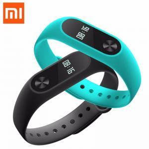 Фото Умные смарт часы и фитнес браслеты MiBand Xiaomi 2 Умный браслет оригинальный Bluetooth Фитнес-Трекер Водонепроницаемый с Сенсорным Дисплеем