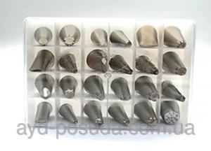 Фото Кухонные принадлежности, Кондитерские шприцы,кондитерские мешки,насадки Насадки кондитерские Код товара 00414