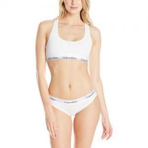 Фото Комплект женский Calvin Klein трусики плюс топ комплект Calvin Klein женский белого цвета, трусики + топ
